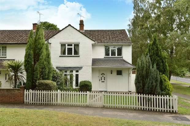 4 Bedrooms End Of Terrace House for sale in Longwater Road, BRACKNELL, Berkshire