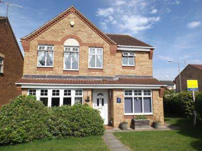 4 Bedrooms Detached House for sale in Swallow Drive, Bingham, Nottingham