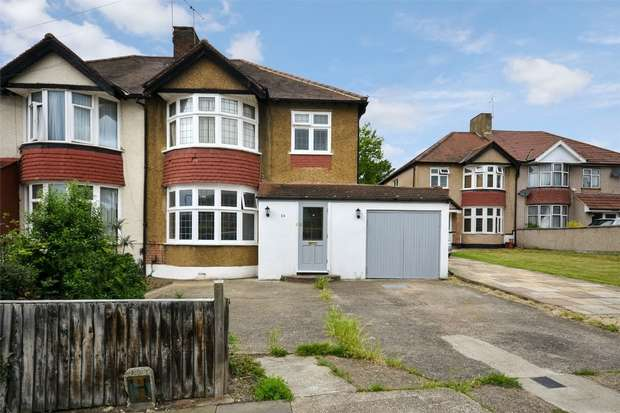 3 Bedrooms Semi Detached House for sale in St Andrews Avenue, WEMBLEY, Middlesex