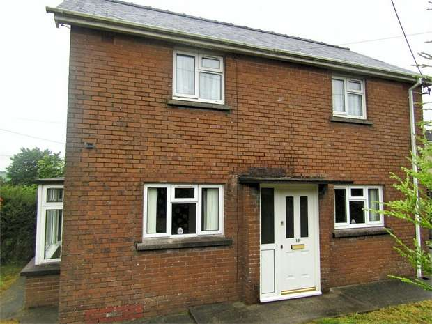 2 Bedrooms Semi Detached House for sale in Llwyncrwn, Pontyates, Llanelli, Carmarthenshire