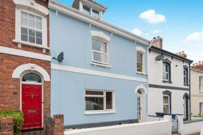 4 Bedrooms Terraced House for sale in Exmouth, Devon