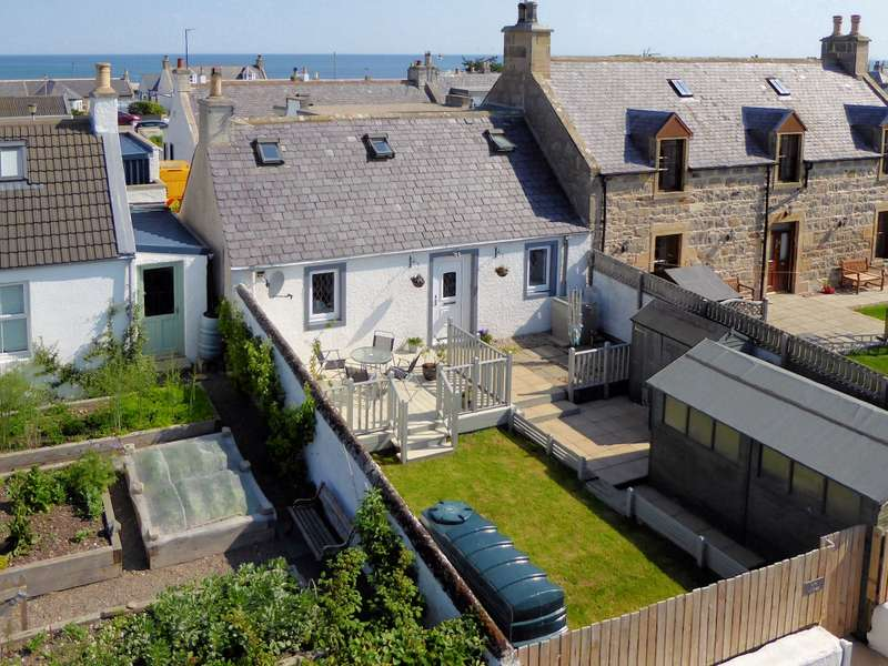 2 Bedrooms Semi Detached House for sale in Spey Cottage Lein Road, Kingston, Fochabers, IV32 7NW