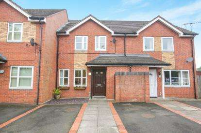 3 Bedrooms Terraced House for sale in Norbury Close, Knutsford, Cheshire