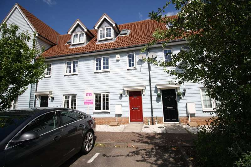 3 Bedrooms Terraced House for sale in Founes Drive, Chafford Hundred