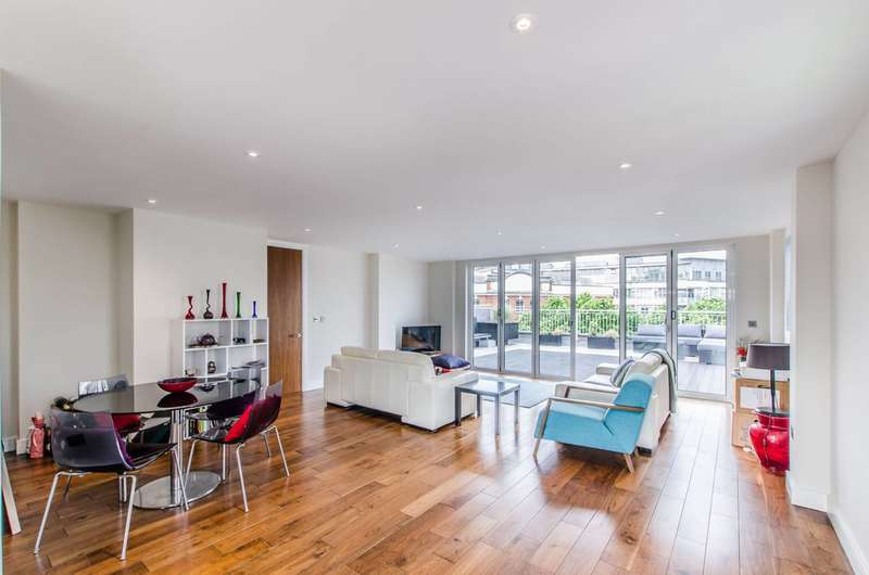 2 Bedrooms Flat for sale in Wellesley Terrace, Old Street, N1
