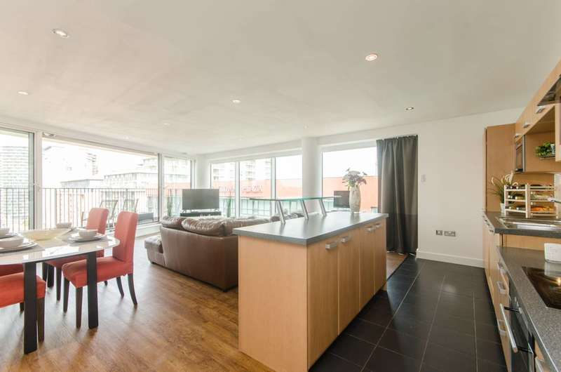 3 Bedrooms Flat for sale in Balearic Apartments, Royal Docks, E16