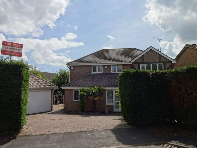 3 Bedrooms Detached House for sale in Quorndon Rise, Groby, Leicester
