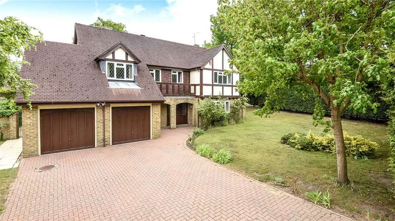 5 Bedrooms Detached House for sale in Medlar Drive, Blackwater, Camberley, GU17