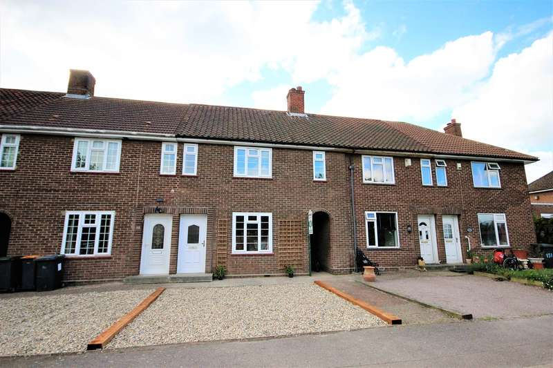 3 Bedrooms Terraced House for sale in Montgomery Close, Stewartby, Bedfordshire, MK43