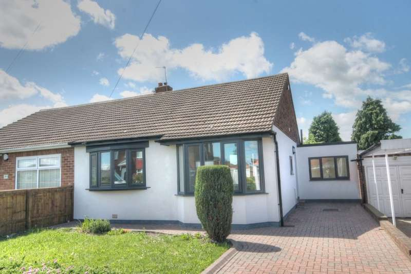 3 Bedrooms Semi Detached Bungalow for sale in Downend Road, Hillheads Estate, Newcastle Upon Tyne, NE5