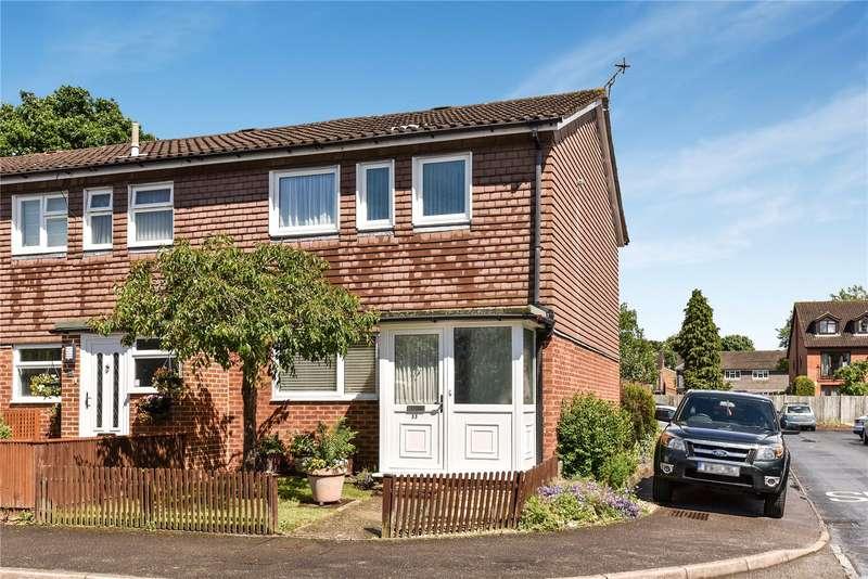 3 Bedrooms End Of Terrace House for sale in Durham Road, Owlsmoor, Sandhurst, Berkshire, GU47