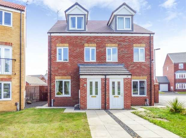 3 Bedrooms Semi Detached House for sale in Oval View, Middlesbrough, North Yorkshire