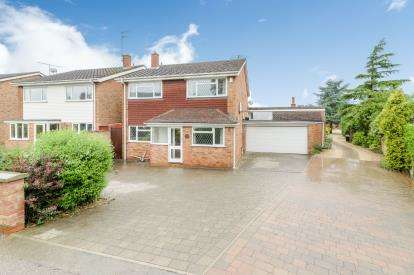 4 Bedrooms Detached House for sale in Court Lane, Stevington, Bedford, Bedfordshire
