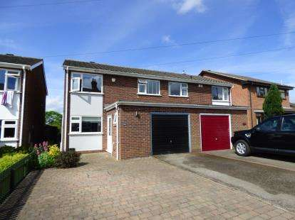 3 Bedrooms Semi Detached House for sale in Main Street, Linton, Swadlincote, Derbyshire