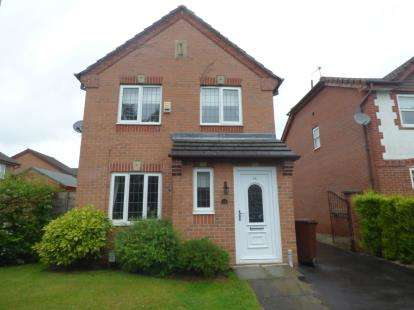 3 Bedrooms Detached House for sale in Kerscott Road, Manchester, Greater Manchester