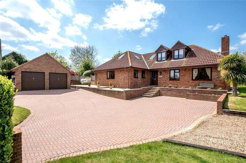 4 Bedrooms Detached Bungalow for sale in Shearston, North Petherton, Bridgwater, Somerset