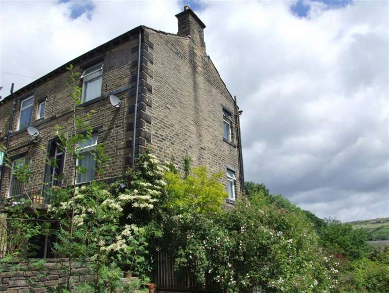 2 Bedrooms End Of Terrace House for sale in Victoria Square, Back Lane, Ripponden, Sowerby Bridge, HX6 4DU