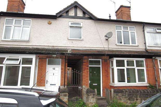 2 Bedrooms Terraced House for sale in Kimberley Street, Sneinton, Nottingham, NG2