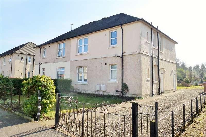 2 Bedrooms Flat for sale in Balfour Crescent, Larbert