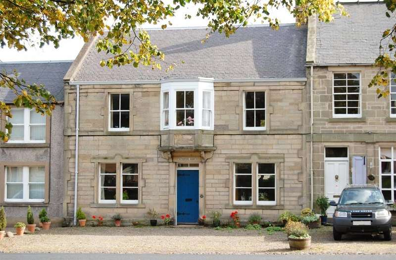 3 Bedrooms Terraced House for sale in Rutherford House, Town Yetholm, Kelso, Scottish Borders