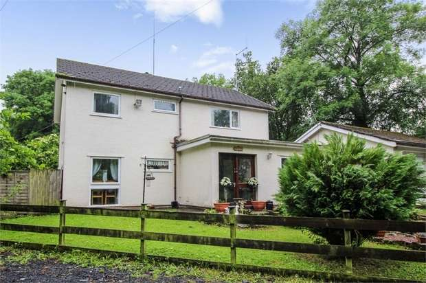 4 Bedrooms Detached House for sale in Llangattock, Crickhowell, Powys