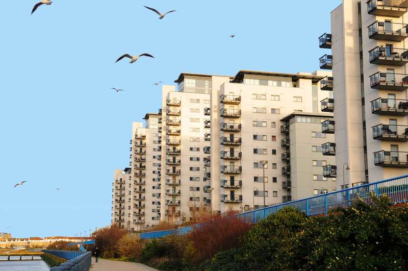 1 Bedroom Apartment Flat for sale in TIDESLEA TOWER, EREBUS DRIVE, WEST THAMESMEAD, SE28 0GF
