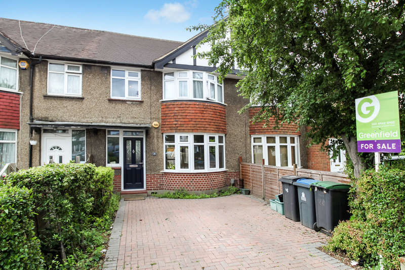 3 Bedrooms Terraced House for sale in Clarence Avenue, New Malden