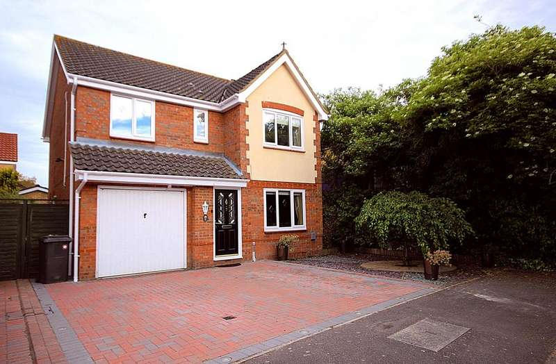 4 Bedrooms Detached House for sale in Chapel Way, HENLOW, SG16