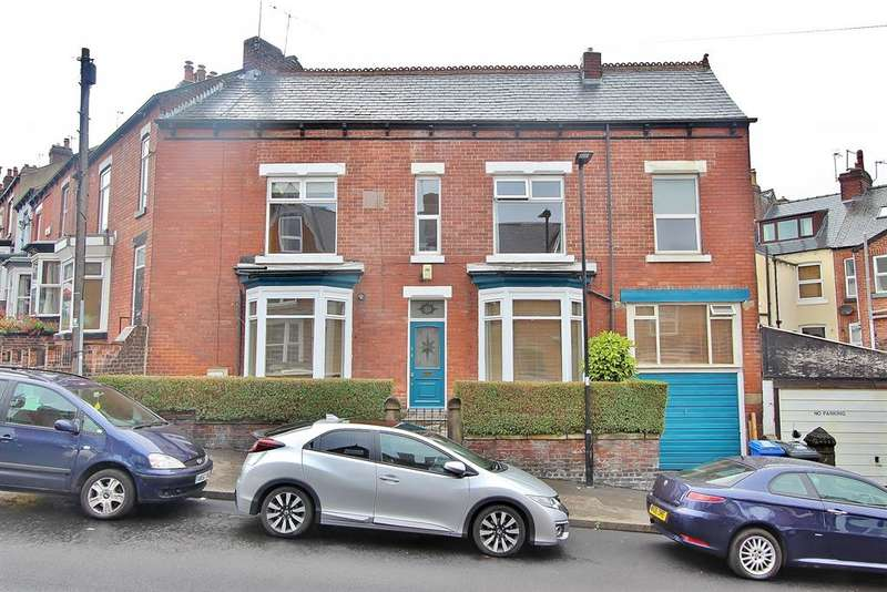 3 Bedrooms End Of Terrace House for sale in Pinner Road, Hunters Bar, Sheffield, S11 8UH