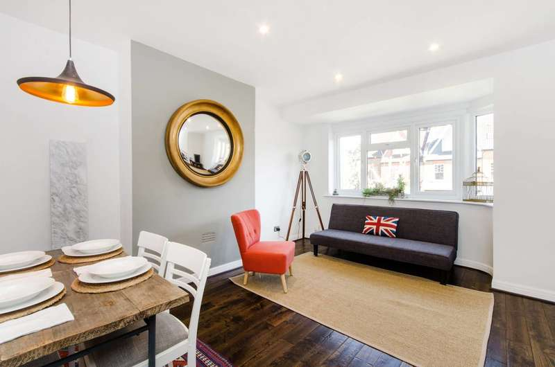 2 Bedrooms Maisonette Flat for sale in Merton Hall Road, Wimbledon, SW19