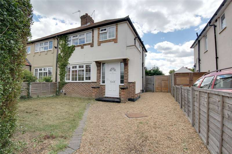 3 Bedrooms Semi Detached House for sale in Hazel Grove, Staines-upon-Thames, Surrey, TW18