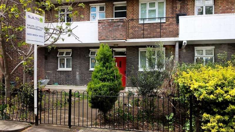 3 Bedrooms Ground Flat for sale in KIRTLEY HOUSE, THESSALY ROAD, LONDON, SW8 4XX