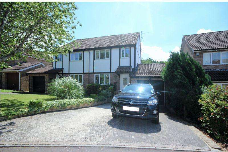 3 Bedrooms Semi Detached House for sale in Sanderling Drive, Cardiff