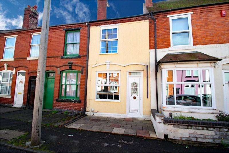 2 Bedrooms Terraced House for sale in Crescent Road, DUDLEY