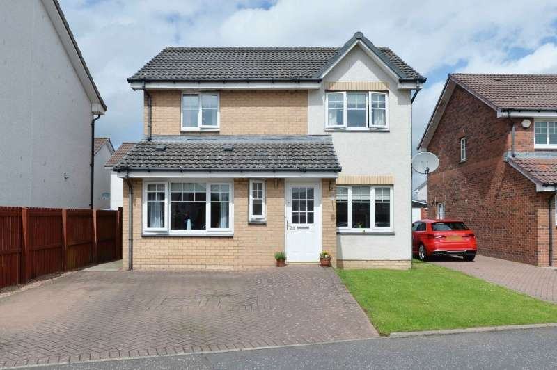 4 Bedrooms Detached Villa House for sale in Hamilton Gardens, Armadale, Bathgate, West Lothian, EH48 2JA