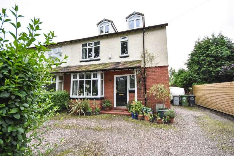 3 Bedrooms Semi Detached House for sale in 14 HAZELBADGE ROAD, POYNTON