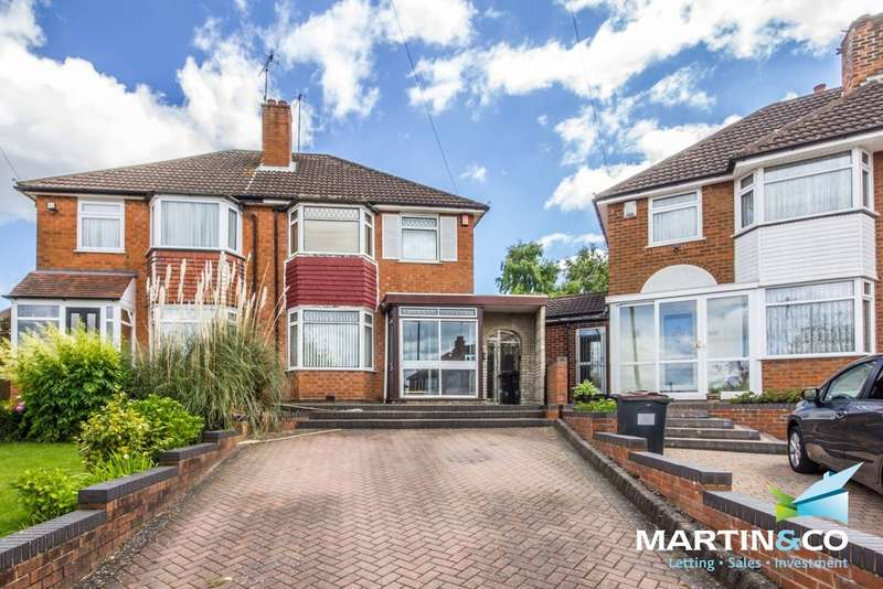 3 Bedrooms Semi Detached House for sale in Worlds End Avenue, Quinton, B32