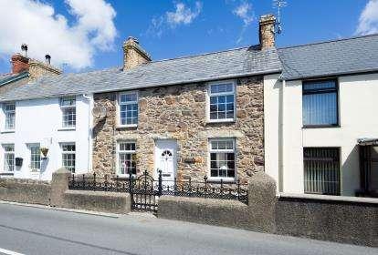 2 Bedrooms Terraced House for sale in Madryn Terrace, Llanbedrog, Gwynedd, LL53