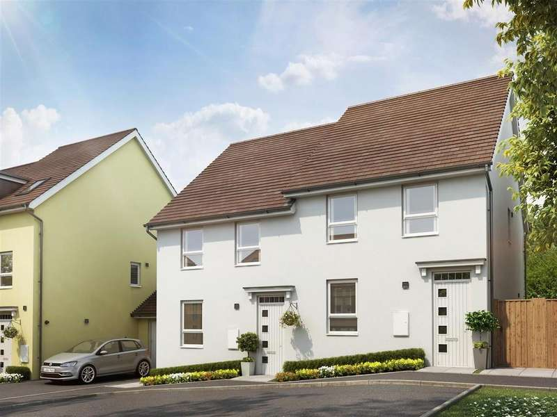 3 Bedrooms Semi Detached House for sale in Plot 227, Saxon Fields, Cullompton
