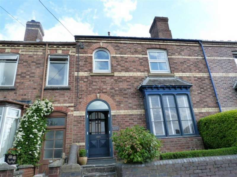 3 Bedrooms Terraced House for sale in Nantoer, Newtown