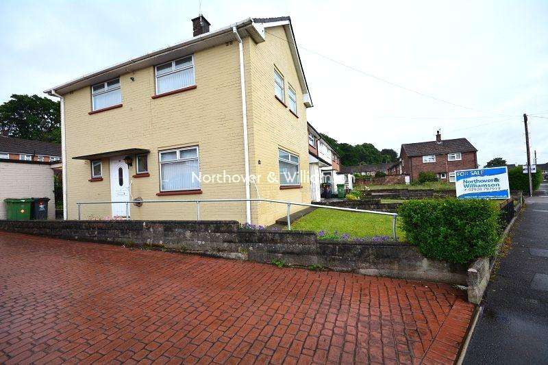 3 Bedrooms Semi Detached House for sale in Dickens Avenue, Llanrumney, Cardiff. CF3
