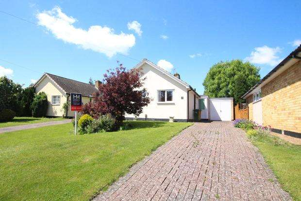 2 Bedrooms Detached Bungalow for sale in Ferneley Crescent, Melton Mowbray, LE13
