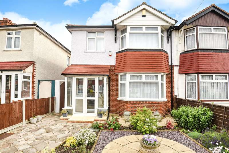 3 Bedrooms Semi Detached House for sale in Towers Avenue, Hillingdon, Middlesex, UB10
