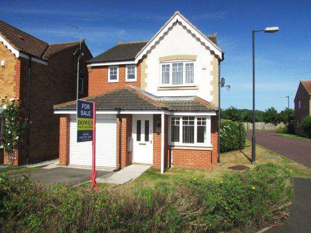 3 Bedrooms Detached House for sale in GREENMOUNT, HOUGHTON LE SPRING, SEAHAM DISTRICT