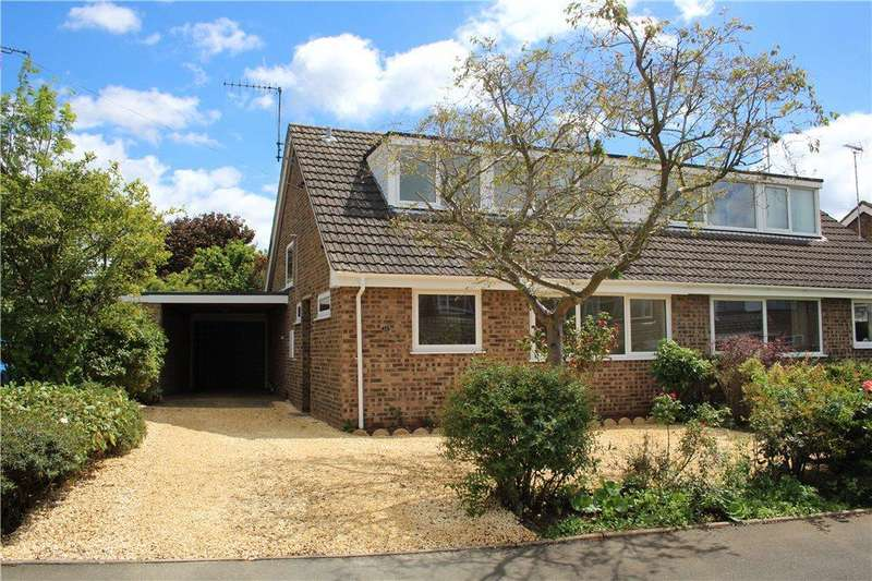 3 Bedrooms Semi Detached House for sale in Cotsmore Close, Moreton-In-Marsh, Gloucestershire, GL56