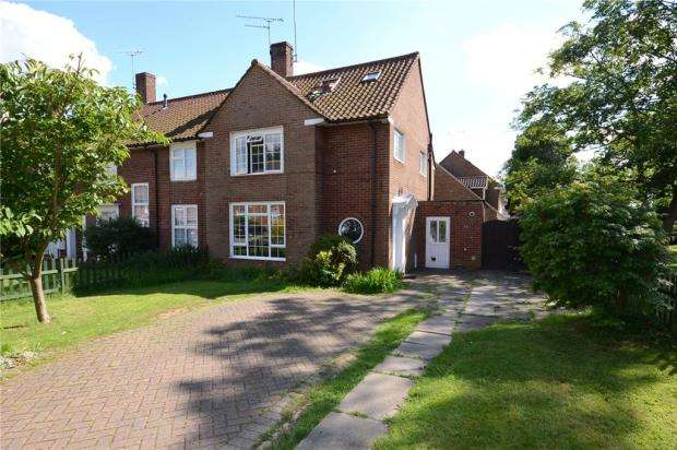 4 Bedrooms End Of Terrace House for sale in Hawthorn Close, Bracknell, Berkshire