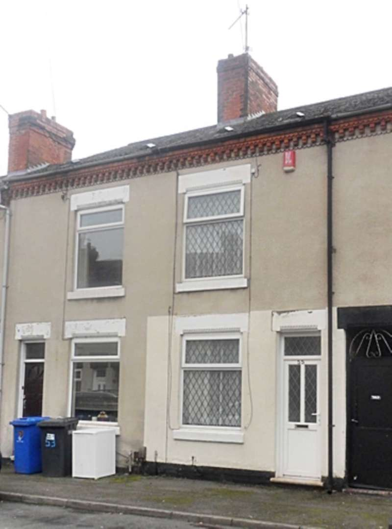 2 Bedrooms Terraced House for sale in Leicester St, Stockbrook