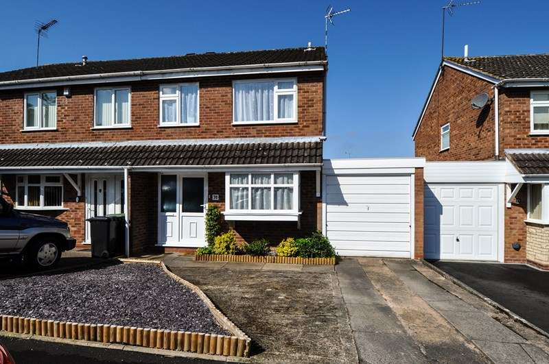 3 Bedrooms Semi Detached House for sale in Cheswick Close, Winyates Green, Redditch
