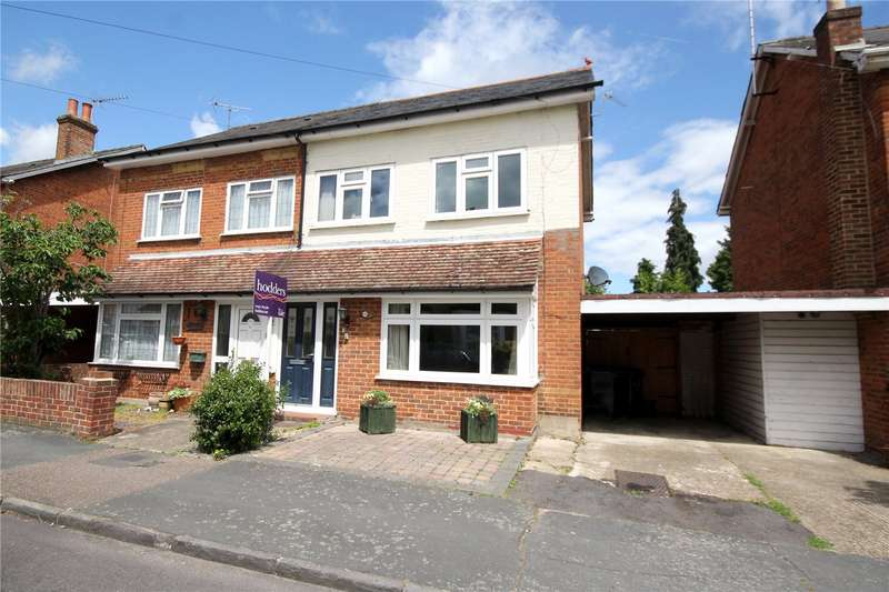 4 Bedrooms Semi Detached House for sale in Chapel Avenue, Addlestone, Surrey, KT15