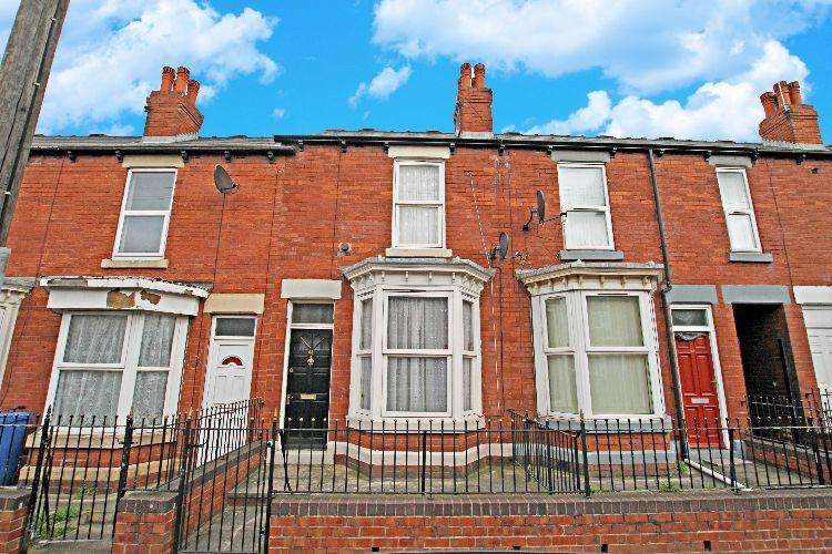2 Bedrooms Terraced House for sale in Lifford Street Sheffield South Yorkshire
